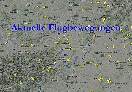 Aktuelle Flugbewegungen